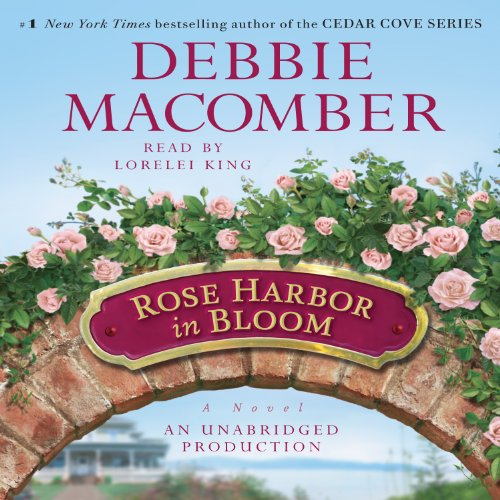 Rose Harbor in Bloom audiobook cover art