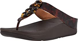 5924e8d352d FitFlop Deco Toe Thong Sandals at Zappos.com