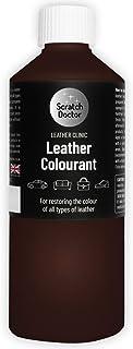 Scratch Doctor Leather Kleurstof Donkerbruin 500ml Snel en eenvoudig Lederen Reparatie Verf Geschikt voor Banken Meubels A...