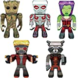 fascinations Metal Earth 3D Metal Model Kits Marvel Guardians of The Galaxy Complete Set of 5 - Groot - Rocket - Drax - Gamora - Star-Lord
