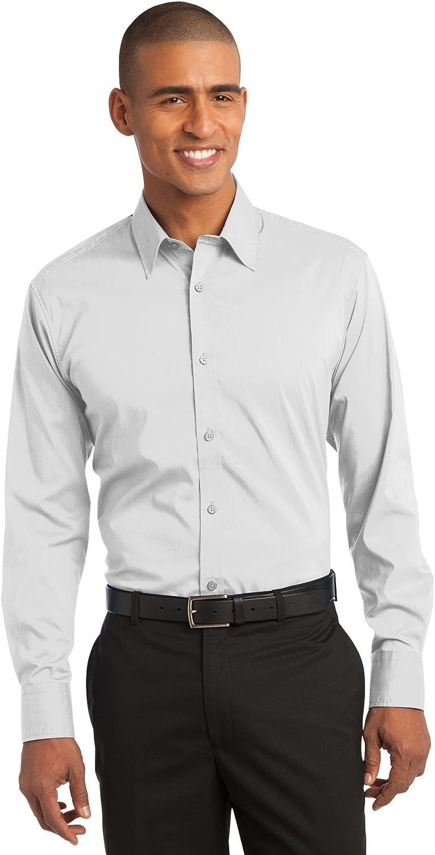 Port Authority Stretch Poplin Shirt. S646