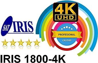 RECEPTOR SATELITE DE SOBREMESA IRIS 1800 4K/ QUAD CORE/ ANDROID 7.1 /H.256 /2Gb RAM DDR3/ 8Gb FLASH/ WIFI RED/ HDMI/ MEDIACENTE