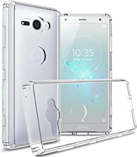 Sony Xperia XZ2 Compact Case cover , coverON , Clear Back Panel , Clear Bumper
