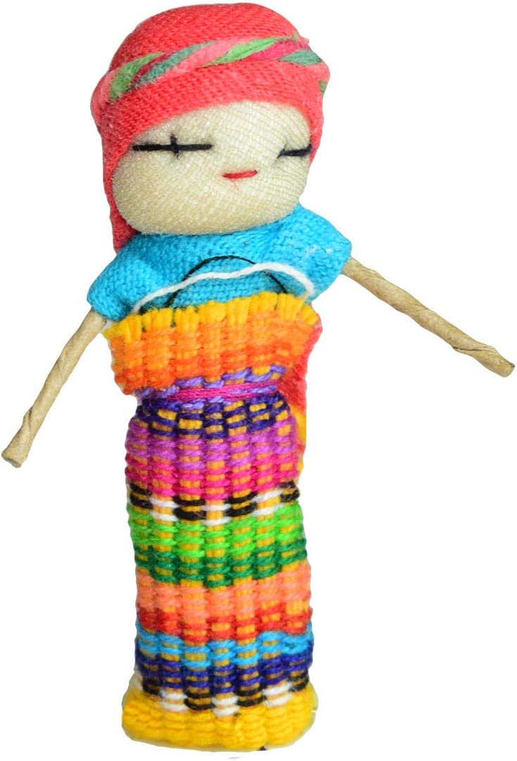Weekly update Hide Drink Traditional Worry Dolls of Collectible 6 Max 44% OFF Te Set