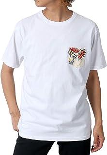 [エドウィン] Tシャツ 無地 アロハ ポケット 付き 半袖 メンズ