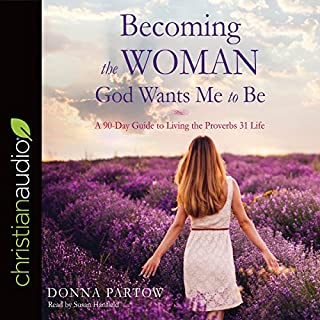 Becoming the Woman God Wants Me to Be audiobook cover art