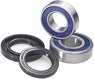 Front Wheel Bearing and Seal Kit with Keepitroostin Sticker Fits Honda Cr80 Cr85 1983-2007