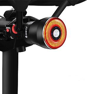 テールライト 自転車 G keni ブレーキランプ アルミ合金製 自動点滅 自動消灯 高輝度 長時間連続点灯 USB充電式 IP65防水 ロードバイク クロスバイク サイクル リアライト