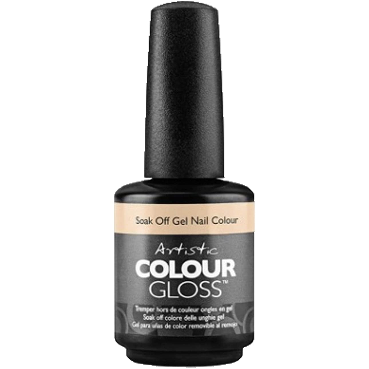 に慣れ衝突苦難Artistic Colour Gloss - Skindalous - 0.5oz / 15ml