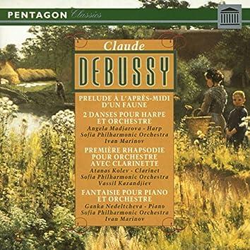 Debussy: Prelude a l'apres-midi d'une faune - Danse sacree & Danse profane - Premiere rhapsodie - Fantaisie pour piano et orchestre