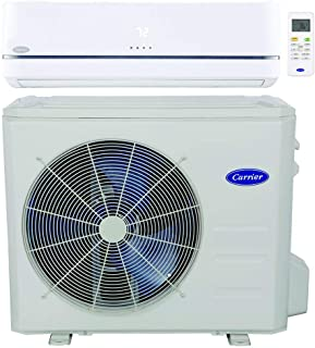 Carrier single zone Ductless heat Pump ( Cooling & Heating ) Performance series with Inverter Technology- 18,000 BTU