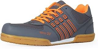 Feroc Shot Orange Non Marking Badminton Shoes