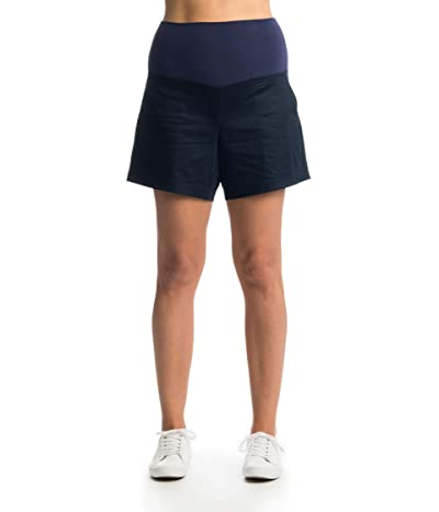 Everly Grey Kathleen Maternity Shorts (Navy) Women