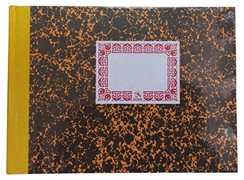 Dohe 9963 - Cuaderno cartoné, cuentas corrientes, cuarto apaisado ⭐