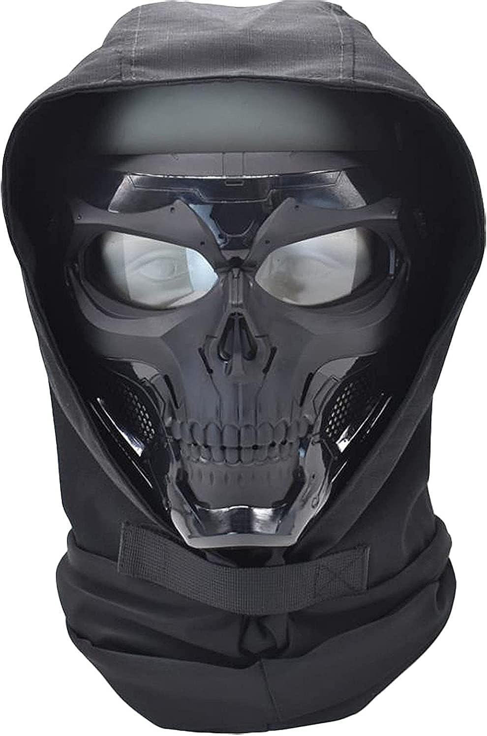 Tactical Skull Ranking TOP20 Full Mask Stretch Hood Fabric Headdress Dua New item
