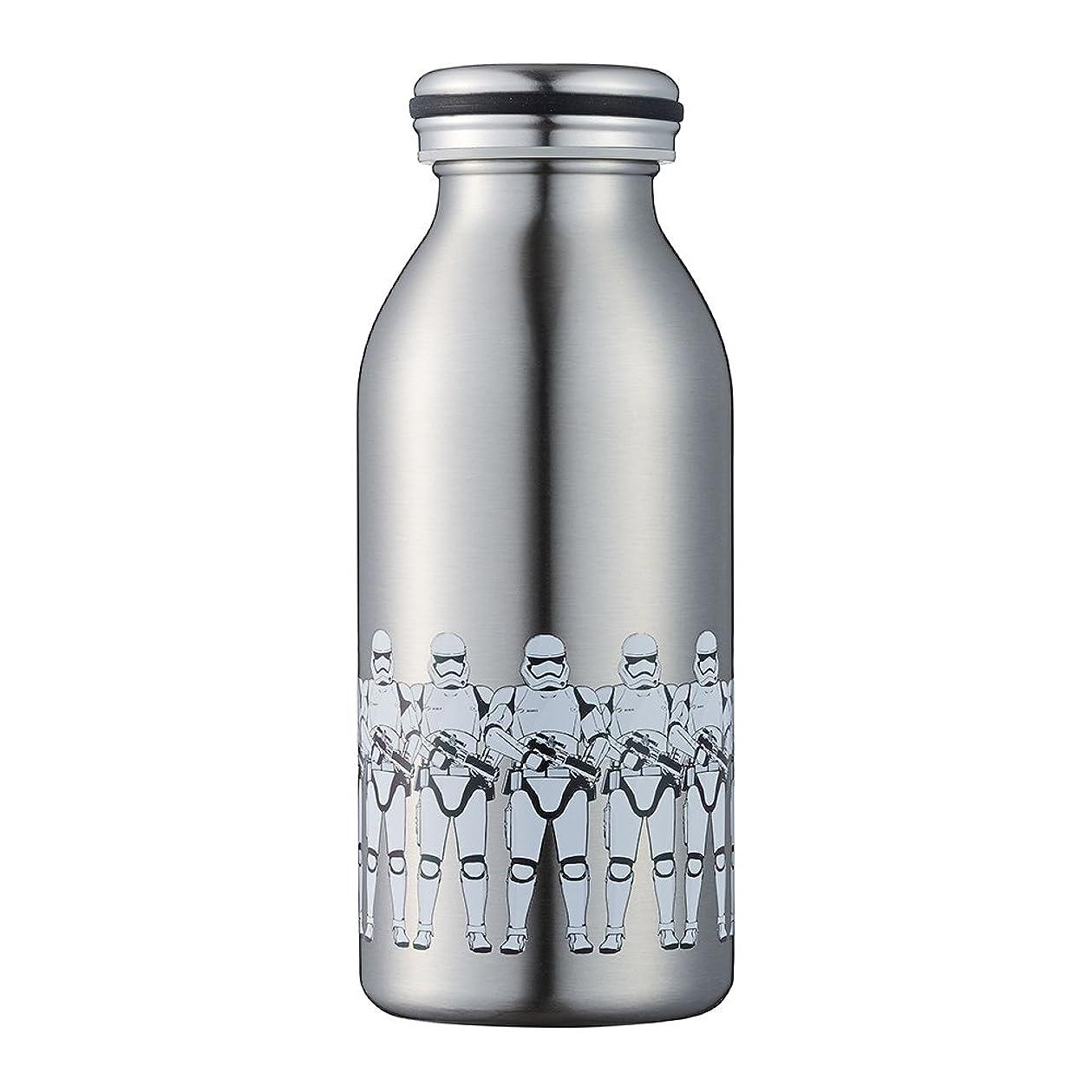 お誕生日ウェブバケツ水筒  デザイン ボトル 0.35L ストームトルーパー SWMB350ST  mosh!×STAR WARS (モッシュ×スターウォーズ)