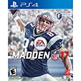 Madden NFL 17 For PS4 | EA Sport's | Electronic Art's| Standard Edition| Franchise Mode | NFLPA | Football | Single Player/Multi-Player Mode| English-USA Version