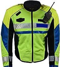 Reflective Work Safety Vest High Visibility Reflective Safety Bomber Jacket Work Joking Motorcycle Bicycle Bike Traffic Guard Night Security Jacket Coat Workwear Sweatshirt for Motorcycle Running Jogg