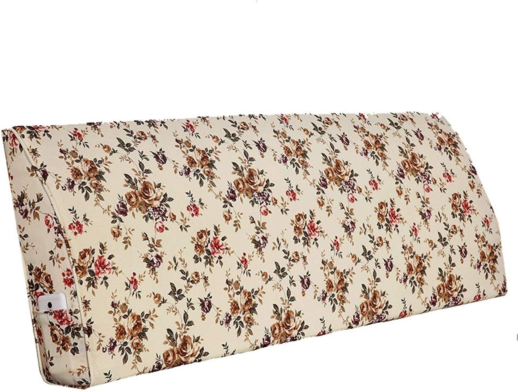 LPD- tête de lit coussins Ménage Chevet Taille Taille Dossier Lecture Oreiller Support Lit Coussin Coussin Coussin Canapé Lavable (Couleur   A, taille   150cmX12cmX50cm)