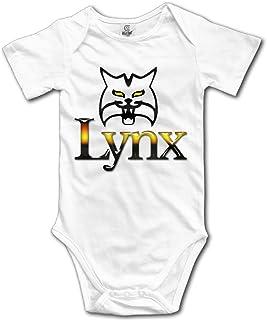 Midbeauty Big Eye Lynx Newborn Cotton Jumpsuit Romper Bodysuit Onesies Infant Boy Girl Clothes