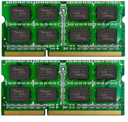 Team SO-DIMM DDR3 204pin PC3-10600 1333Mhz 8GB (2枚組4GBx2) TSD38192M1333C9DC-E
