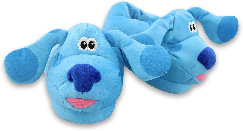 Blue's Clues & You Slip On Plush 3D Toddler Kids Slippers