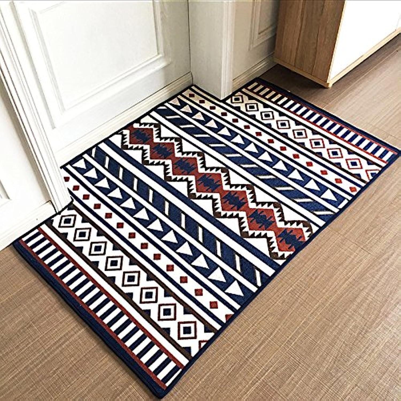 Doormat Simple Doormat Door Door Living Room Floor Bedroom Skid proof-B-120x120cm(47x47inch)