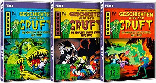 Geschichten aus der Gruft (Tales from the Cryptkeeper) - Gesamtedition / Die komplette Serie auf 6 DVDs (Pidax Animation)
