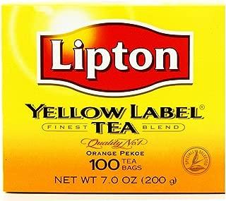 Lipton Yellow Label Tea (100 tea bags)