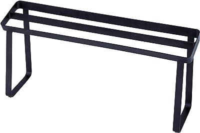 天馬 出し入れしやすいスリッパラック マットブラック 幅45×奥行12×高さ21cm PRX 美style