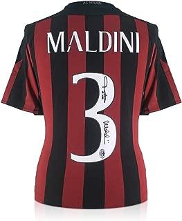 ac milan signed jersey