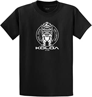 Koloa Surf Tiki Logo Cotton T-Shirts in Regular, Big and Tall Sizes