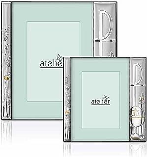 Atelier - Portarretratos para Comunión - Realizado en plata aplicada con el método PVD (depósito