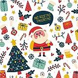 Mis recetas favoritas: ¡feliz Navidad! Libro de recetas en blanco personalizado para crear tus propios platos deliciosos - XXL - cuaderno de recetas de cocina para escribir hasta 100 recetas