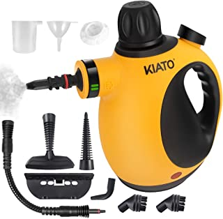 Kiato Handheld Steam Cleaner, Steamer for Cleaning...