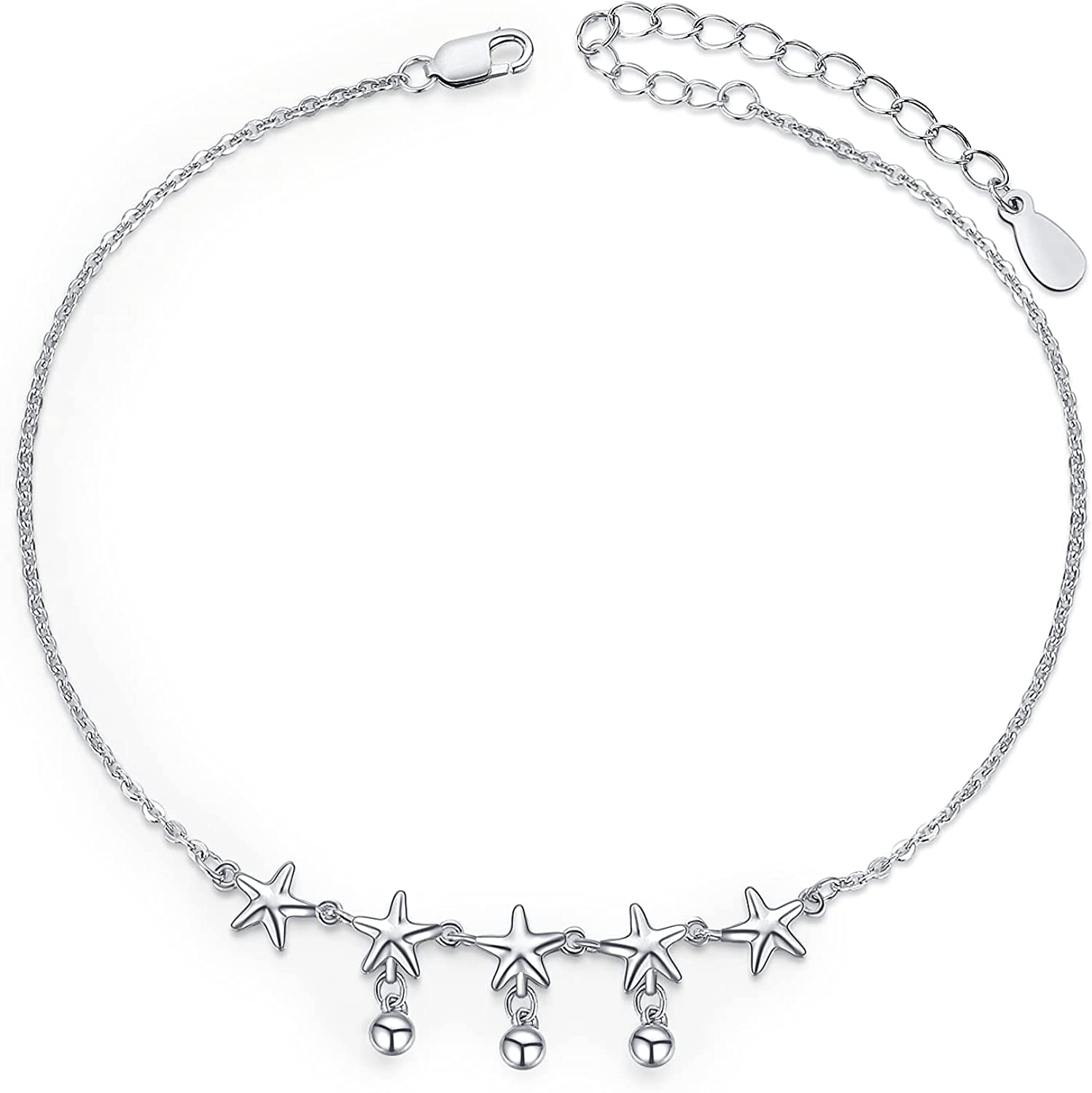 Palpitate Anklet Bracelet for Limited time trial price Women 9 Love Trust Butterfly Star