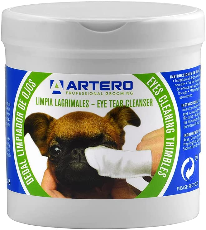 ARTERO Disposable Eye Cleaning Wipes Fashionable for - Wipe Dogs Cats and 50 Rapid rise