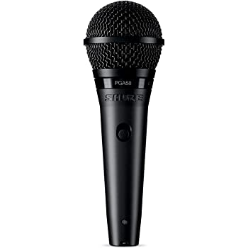 Shure PG ALTA Cardioid Dynamic Vocal Microphone with XLR-XLR Cable (PGA58-XLR)
