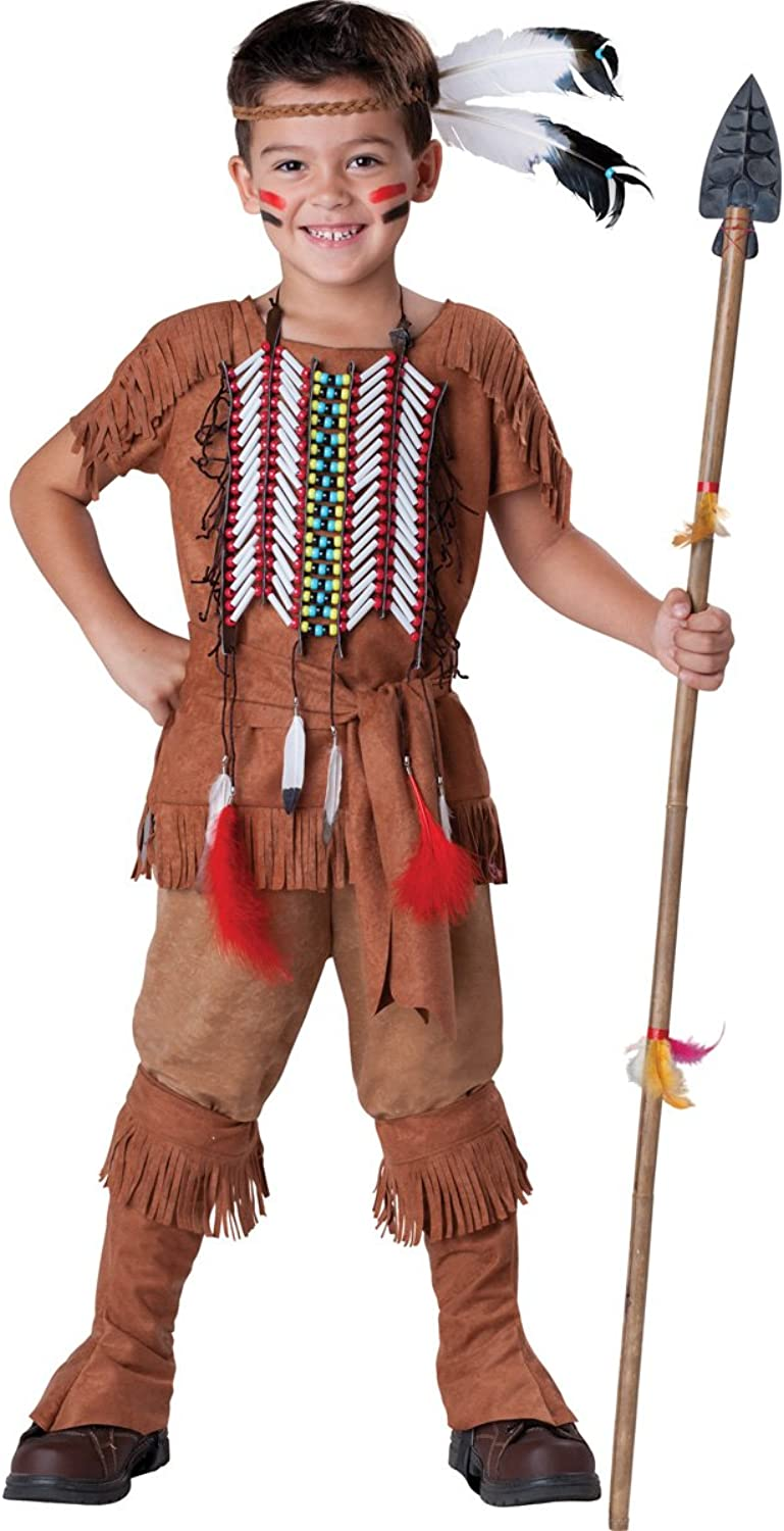 InCharacter Costumes Boy's Indian Brave Costume, Tan, 6 by InCharacter