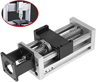 Jadpes Ball Screw Slide 1pc 100mm 3 9inch High Precision Ball Screw Sliding Table Linear Stage Manual Sliding Table Ball Screw Linear Stage Slide Stroke