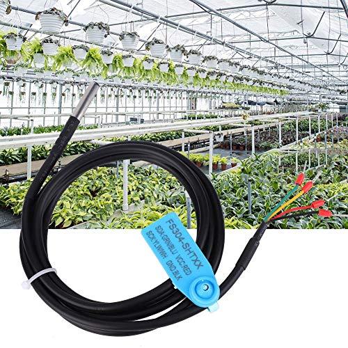 Find Bargain wosume Soil Digital Temperature & Humidity Sensor Probe Waterproof Stainless Steel Case...