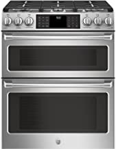 GE Cafe CGS995SELSS 30 Inch Slide-in Gas Range with Sealed Burner Cooktop, 6.7 cu. ft. Primary Oven Capacity in Stainless Steel