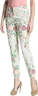 8P Jeans Women's Audrey Ankle Leg Floral Pants Multi Color Petite Not Your Daughters Jeans …
