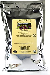Starwest Botanicals Organic Raw Dandelion Root Tea [1 Pound] Bulk Cut & Sifted (C/S) Loose Tea