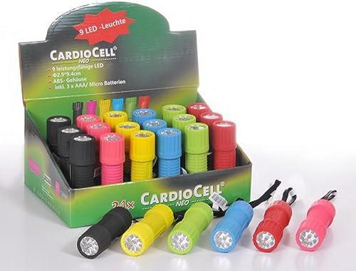 CardioCell ''NEO'' LED-Taschenlampe, 24 Stück