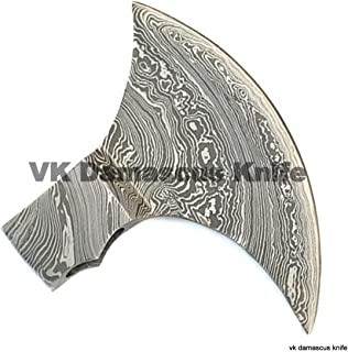 JNR Traders Handmade Damascus Steel Axe/Hatchet Head Forged Damascus Steel VK4116