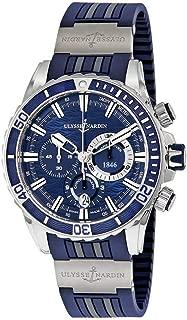Ulysse Nardin Marine Diver Automatic Mens Chronograph Watch 1503-151-3/93