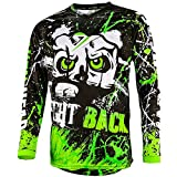 Broken Head MX Jersey Strike Back Grün - Langarm Funktions-Shirt Für Moto-Cross, BMX, Mountain...