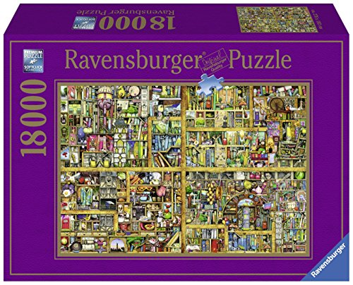 Ravensburger 178254 Puzzel Colin Thompson Magical Bookcase - Legpuzzel - 18000 Stukjes