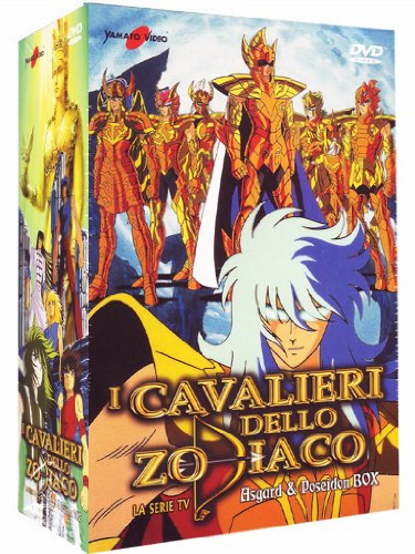 I Cavalieri Dello Zodiaco - La Serie Tv - Asgard & Poseidon Box (10 Dvd)